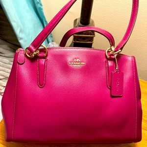 Coach carryall satchel